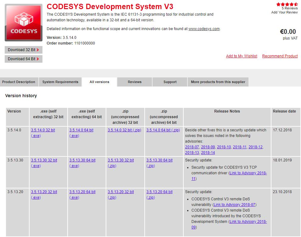 Тонкости использования Codesys Control Win   ТиниКо