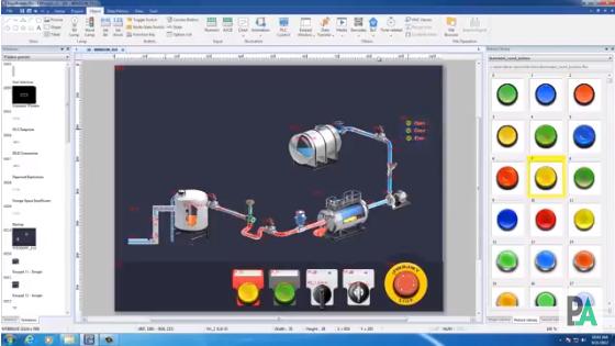 Weintek обновил внешний вид EasyBuilder Pro